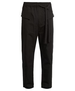 Damir Doma | Paivi Drawstring Cotton Trousers