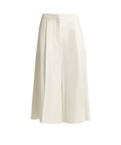 Stella McCartney | Olivier High-Rise Wide-Leg Cropped Trousers
