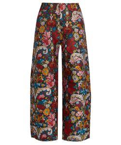 MARQUES'ALMEIDA | Wide-Leg Brocade Trousers