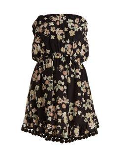 Athena Procopiou   Wild Grace Silk Mini Dress