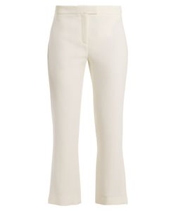 Osman | Yasmin Kick-Flare Wool Trousers