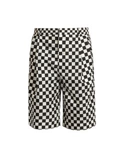 Givenchy | Checked Shell Shorts