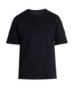 Wooyoungmi | Stitch-Detail Cotton-Blend T-Shirt