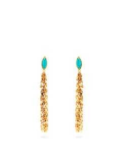 Sylvia Toledano | Leaves Clip-On Drop Earrings