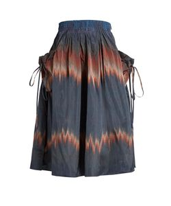 Brock Collection | Stella Drawstring-Pocket Skirt