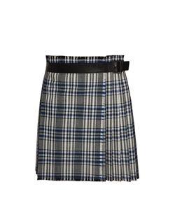 Alexander McQueen | Plaid Pleated Skirt