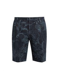 Etro | -Print Linen Shorts