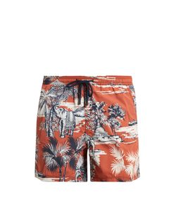 Etro | Indian-Print Swim Shorts