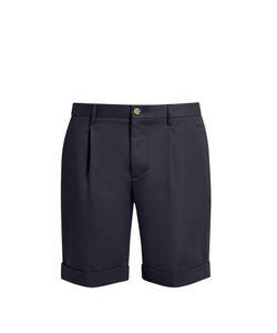 Éditions M.R   Pleat-Front Cotton Shorts