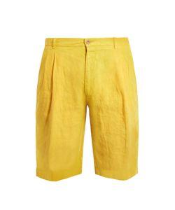 Etro | Slim-Leg Linen Shorts