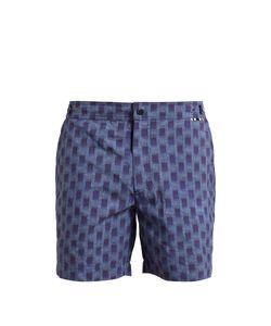 DANWARD | Abstract-Print Swim Shorts