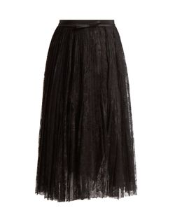 Giambattista Valli | Pleated Lace Skirt