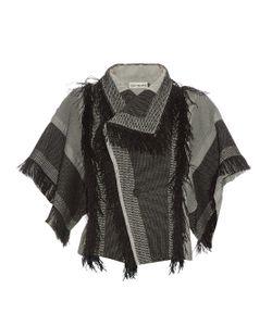 Issey Miyake | Parrot Fringed Check Jacket