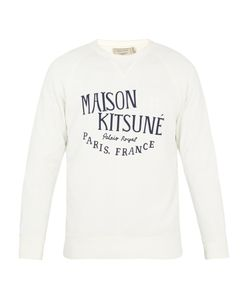 Maison Kitsuné | Palais Royal-Print Cotton Sweatshirt