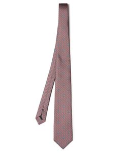 Dunhill | Logo-Print Silk Tie