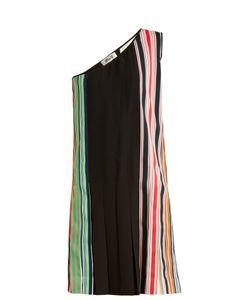 Diane von Furstenberg | One-Shoulder Pleated Dress