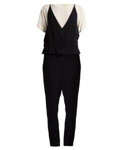 Vanessa Bruno | Gib Short-Sleeved Tape Crepe Jumpsuit