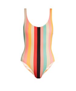 SOLID & STRIPED | The Anne-Marie Striped Swimsuit