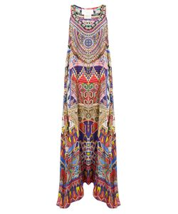 Camilla | Dream Weavers-Print Silk Crepe De Chine Dress