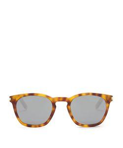 Saint Laurent | D-Frame Mirrored Sunglasses