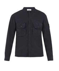 Stone Island | Point-Collar Lightweight Overshirt
