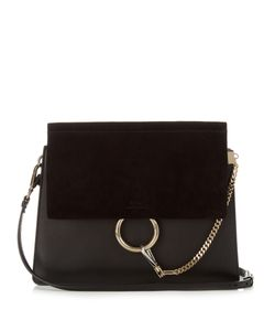Chloé | Faye Medium Leather And Suede Shoulder Bag