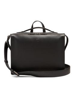 Fendi | Logo-Embossed Leather Briefcase