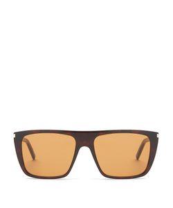 Saint Laurent | Flat-Top Sunglasses