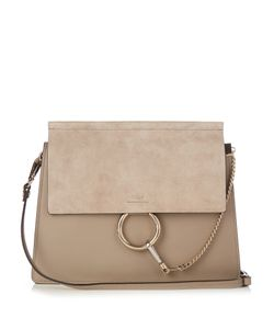 Chloé | Faye Medium Suede And Shoulder Bag