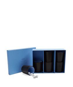 Smythson | Grosvenor Leather Perudo Set
