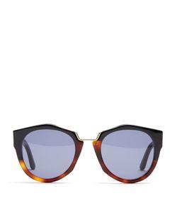 Marni | Driver Geometric Round-Frame Sunglasses