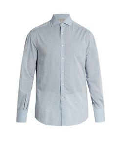 Brunello Cucinelli | French-Collar Cotton Shirt