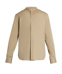 Lemaire | Stand-Collar Stretch-Cotton Shirt