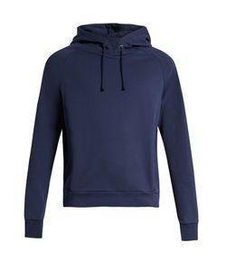 Martine Rose   Embroide Cotton-Jersey Hooded Sweatshirt