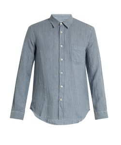 120 LINO | Striped Linen Shirt