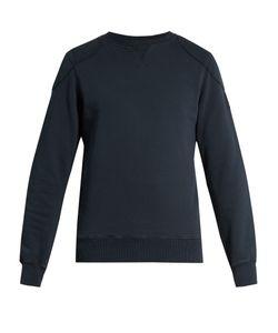 Belstaff   Hawkhurst Panelled Cotton Sweatshirt