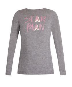 Bella Freud   Star Man Wool-Blend Sweater