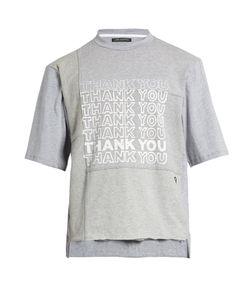 Longjourney | Nash Thank You-Print Cotton-Jersey T-Shirt