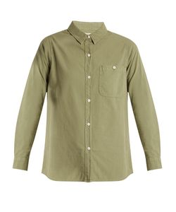 The Great | The Campus Patch-Pocket Cotton Shirt