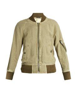 R13 | Shrunken-Fit Cotton-Blend Flight Jacket