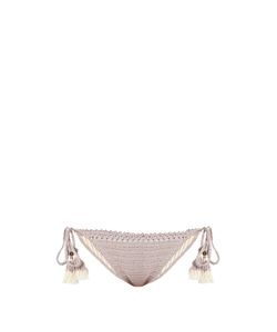 She Made Me | Essential Tie-Side Crochet Bikini Briefs