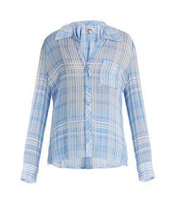 Diane von Furstenberg | Patch-Pocket Crepe Shirt