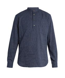 DE BONNE FACTURE | Pinstriped Linen And Cotton-Blend Shirt