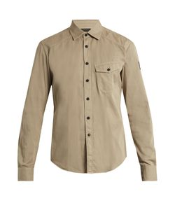 Belstaff | Steadway Point-Collar Cotton Shirt