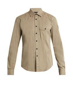 Belstaff | Steadway Point-Collar Cotton Shirt