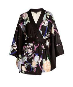 Marc Jacobs | -Print Sequin-Embellished Satin Wrap Dress