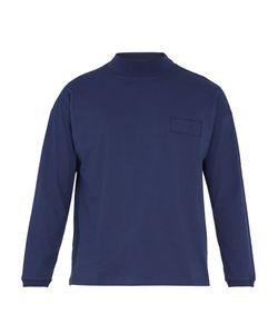 Martine Rose   Logo-Print Long-Sleeved Cotton-Jersey T-Shirt
