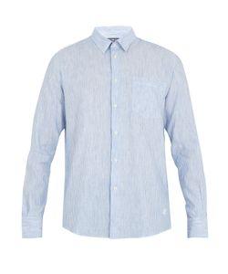 Vilebrequin   Caroubis Button-Cuff Linen And Cotton-Blend Shirt