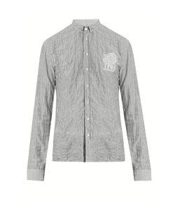 Balmain | Striped-Cotton Shirt