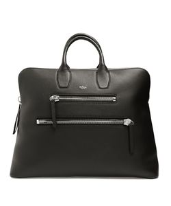 MULBERRY | Chunky-Zip Grained-Leather Holdall